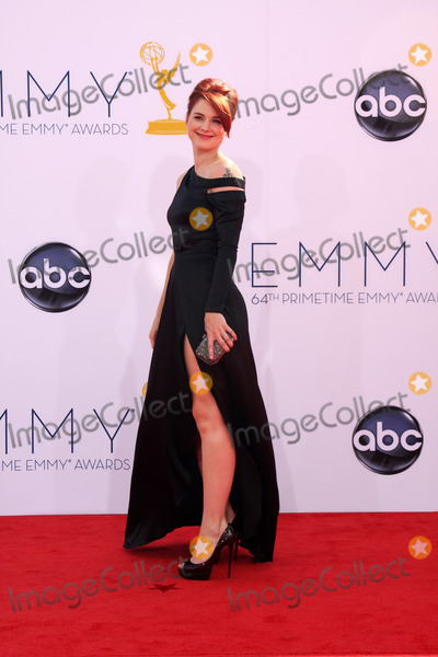 Alexandra Breckenridge Photo - LOS ANGELES - SEP 23  Alexandra Breckenridge arrives at the 2012 Emmy Awards at Nokia Theater on September 23 2012 in Los Angeles CA