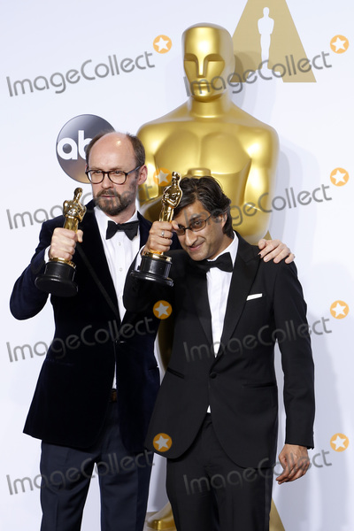 Asif Kapadia Photo - LOS ANGELES - FEB 28  James Gay-Rees Asif Kapadia at the 88th Annual Academy Awards - Press Room at the Dolby Theater on February 28 2016 in Los Angeles CA