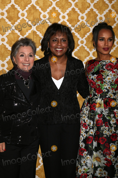 Anita Hill Photo - LOS ANGELES - MAR 31  Barbara Boxer Anita Hill Kerry Washington at the Confirmation HBO Premiere Screening at the Paramount Studios Theater on March 31 2016 in Los Angeles CA