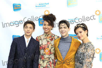 Joshua Rush Photo - LOS ANGELES - OCT 28  Asher Angel Sofia Wylie Joshua Rush Peyton Elizabeth Lee at the 2018 Looking Ahead Awards at the Taglyan Cultural Complex on October 28 2018 in Los Angeles CA