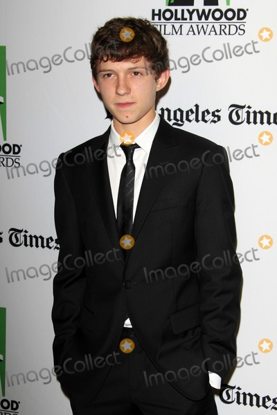 Tom Holland Photo - LOS ANGELES - OCT 22  Tom Holland arrives at  the 2012 Hollywood Film Festival Gala at Beverly Hilton Hotel on October 22 2012 in Beverly Hills CA