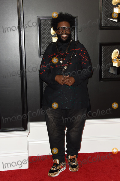 Questlove Photo - LOS ANGELES - JAN 26  Questlove at the 62nd Grammy Awards at the Staples Center on January 26 2020 in Los Angeles CA