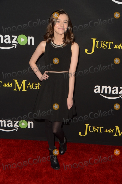 Ashley Boettcher Photo - LOS ANGELES - JAN 14  Ashley Boettcher at the Just Add Magic Amazon Premiere Screening at the ArcLight Hollywood Theaters on January 14 2016 in Los Angeles CA