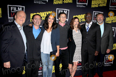 Andre Braugher Photo - LOS ANGELES - MAY 7  Dirk Blocker Joe Lo Truglio Melissa Fumero Andy Samberg Chelsea Peretti Andre Braugher Joel McKinnon Miller at the An Evening With Brooklyn Nine Nine at the Bing Theater at LACMA on May 7 2015 in Los Angeles CA