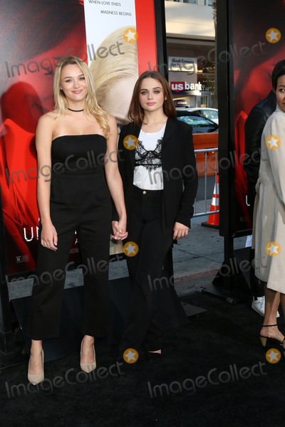 Hunter King Photo - LOS ANGELES - APR 18  Hunter King Joey King at the Unforgettable Premiere at TCL Chinese Theater IMAX on April 18 2017 in Los Angeles CA