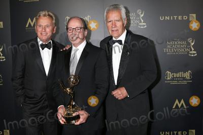 Alex Trebek Photo - LOS ANGELES - APR 29  Pat Sajak Harry Friedman Alex Trebek at the 2017 Creative Daytime Emmy Awards at the Pasadena Civic Auditorium on April 29 2017 in Pasadena CA