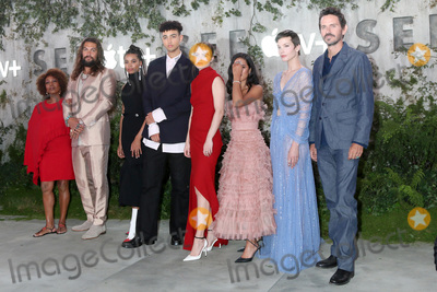 Jason Momoa Photo - LOS ANGELES - OCT 21  Alfre Woodard Jason Momoa Nesta Cooper Archie Madekwe Hera Hilmar Yadira Guevara-Prip Sylvia Hoeks Christian Camargo at the Apple TVs See Premiere Screening at the Village Theater on October 21 2019 in Westwood CA