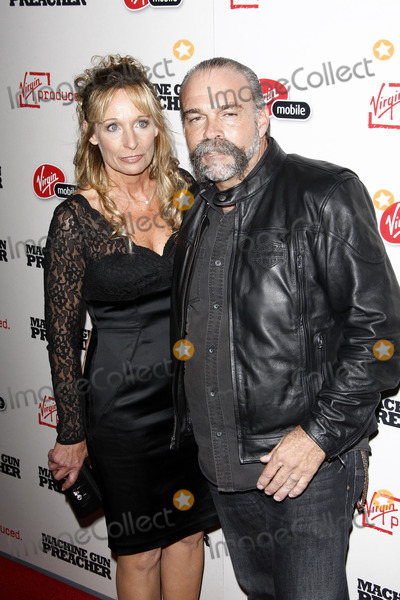 Sam Childers Photo - LOS ANGELES - SEPT 21  Lynn Childers Sam Childers arriving at the Machine Gun Preacher Los Angeles Premiere at Academy of Motion Pictures Arts  Sciences on September 21 2011 in Beverly Hills CA