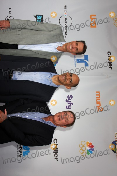 Tony Dungy Photo - Cris Collinsworth Tony Dungy and Al Michaelsarrives at An Evening with NBC Universal 2010Universal Studios HollywoodLos Angeles CAMay 12 2010