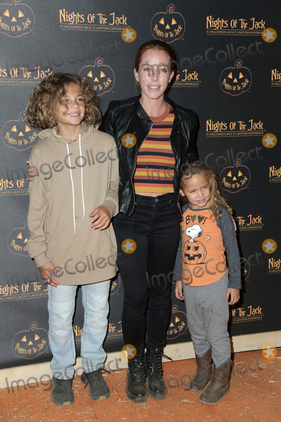 Kendra Wilkinson Photo - LOS ANGELES - OCT 10  Kendra Wilkinson Hank Baskett IV Alijah Mary Baskett at the Nights Of The Jack Halloween Activation Launch Party at the King Gillette Ranch on October 10 2018 in Calabasas CA