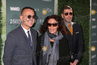 Diane Von Furstenberg Photo - LOS ANGELES - FEB 20  Steven Kolb Diane von Furstenberg Nathan Jenden at the CFDA Variety and WWD Runway to Red Carpet at Chateau Marmont Hotel on February 20 2018 in West Hollywood CA