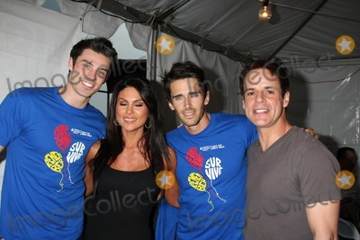 Adam Gregory Photo - LOS ANGELES - OCT 1  Adam Gregory Nadia Bjorlin Brandon Beemer Christian LeBlanc arriving at the Light The Night Hollywood Walk 2011 at the Sunset Gower Studios on October 1 2011 in Los Angeles CA