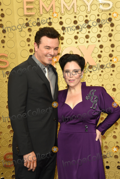 Alex Borstein Photo - LOS ANGELES - SEP 22  Seth MacFarlane Alex Borstein at the Primetime Emmy Awards - Arrivals at the Microsoft Theater on September 22 2019 in Los Angeles CA