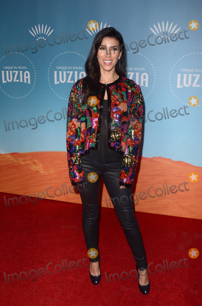 Adrianna Costa Photo - LOS ANGELES - DEC 12  Adrianna Costa at the Cirque du Soleil Presents LA Premiere Event Of Luzia at the Dodger Stadium on December 12 2017 in Los Angeles CA