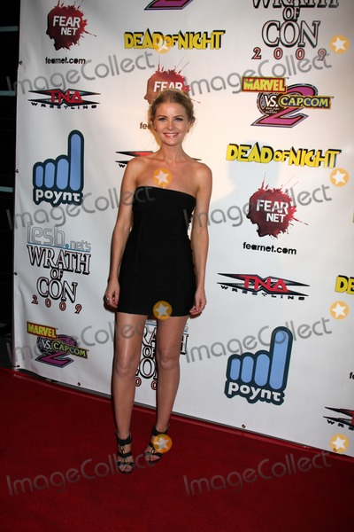 Anita Briem Photo - Anita Briem arriving at the Wrath of Con Party at the Hard Rock Hotel in San Diego CA on July 24 2009