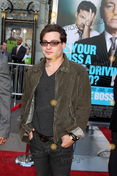 Andrew Lawrence Photo - LOS ANGELES - JUN 30  Andrew Lawrence arriving at the Horrible Bosses Premiere at Graumans Chinese Theater on June 30 2011 in Los Angeles CA