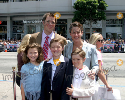 Adam Godley Photo - Adam Godleyand familyCharlie  the Chocolate Factory World PremiereGraumans Chinese TheaterLos Angeles CAJuly 10 2005