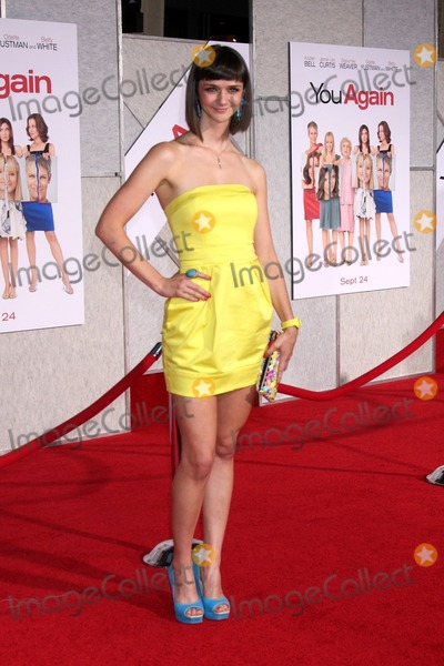 Alexandra Ella Photo - LOS ANGELES - SEP 22  Alexandra Ella arrives at the You Again World Premiere at El Capitan Theater on September 22 2010 in Los Angeles CA