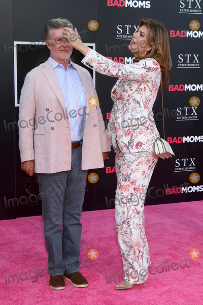 Alan Thicke Photo - LOS ANGELES - JUL 26  Alan Thicke Tanya Callau at the Bad Moms Los Angeles Premiere at the Village Theater on July 26 2016 in Westwood CA