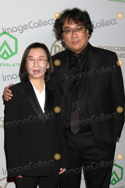 Sinful Photo - LOS ANGELES - JAN 18  Kwak Sin Ae and Bong Joon Ho at the 2020 Producer Guild Awards at the Hollywood Palladium on January 18 2020 in Los Angeles CA