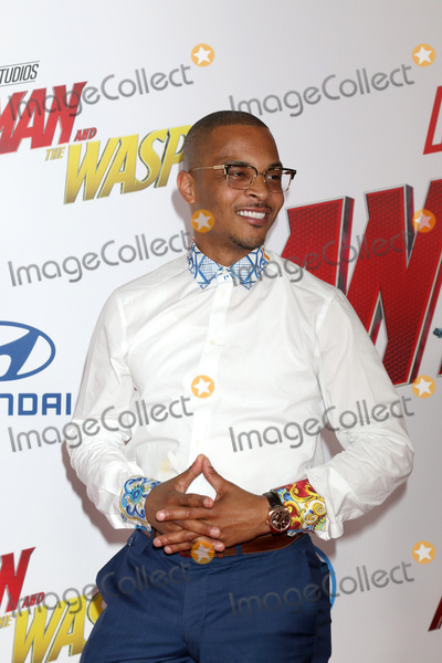 TI Photo - LOS ANGELES - JUN 25  TI Clifford Joseph Harris Jr Tip Harris at the Ant-Man and the Wasp Premiere at the El Capitan Theater on June 25 2018 in Los Angeles CA