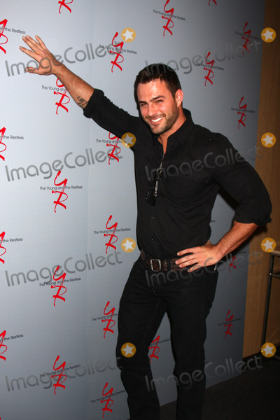 Marco Dapper Photo - LOS ANGELES - FEB 27  Marco Dapper at the Hot New Faces of the Young and the Restless press event at the CBS Television City on February 27 2013 in Los Angeles CA