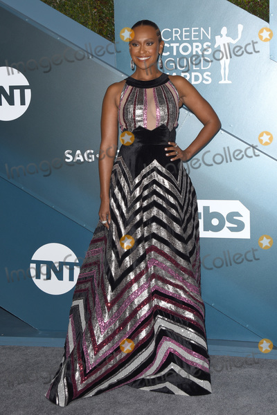Ryan Michelle Bathe Photo - LOS ANGELES - JAN 19  Ryan Michelle Bathe at the 26th Screen Actors Guild Awards at the Shrine Auditorium on January 19 2020 in Los Angeles CA