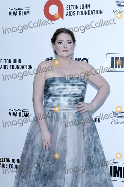 Lauren Ash Photo - LOS ANGELES - FEB 9  Lauren Ash at the 28th Elton John Aids Foundation Viewing Party at the West Hollywood Park on February 9 2020 in West Hollywood CA