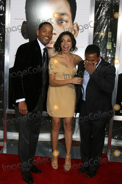 Alfonso Ribeiro Photo - Will Smith  Rosario Dawson  Alfonso Ribeiro   arriving at the Premiere of Seven Pounds at the Manns Village Theater in Westwood CA on December 15 2008