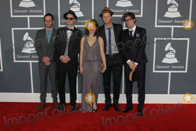 The Lumineers Photo - LOS ANGELES - FEB 10  The Lumineers arrives at the 55th Annual Grammy Awards at the Staples Center on February 10 2013 in Los Angeles CA