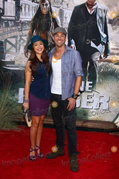 Ace Young Photo - LOS ANGELES - JUN 22  Diana DeGarmo Ace Young  at the World Premiere of The Lone Ranger at the Disneys California Adventure on June 22 2013 in Anaheim CA