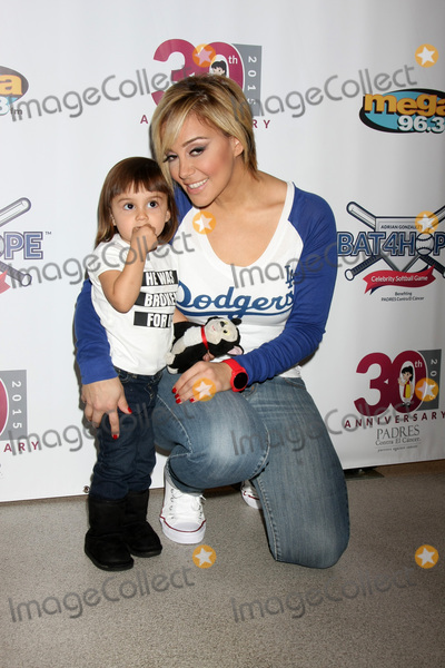 Adrian Gonzalez Photo - LOS ANGELES - NOV 7  Rosie Rivera at the Adrian Gonzalezs Bat 4 Hope Celebrity Softball Game PADRES Contra El Cancer at the Dodger Stadium on November 7 2015 in Los Angeles CA