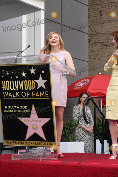 Julianne Moore Photo - LOS ANGELES - OCT 3  Chloe Grace Moretz at the Hollywood Walk of Fame Ceremony for Julianne Moore at W Hollywood Hotel on October 3 2013 in Los Angeles CA