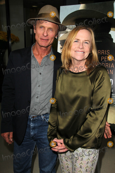 Amy Madigan Photo - LOS ANGELES - AUG 21  Ed Harris Amy Madigan at the Frontera LA Premiere at Landmark Theater on August 21 2014 in Los Angeles CA