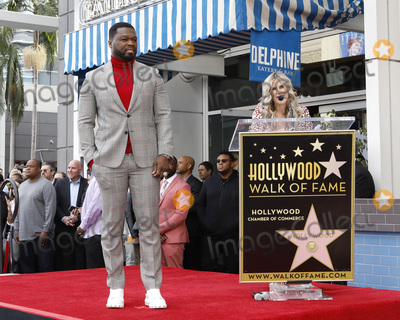 Curtis Jackson Photo - LOS ANGELES - JAN 30  Curtis Jackson 50 Cent Ellen K at the 50 Cent Star Ceremony on the Hollywood Walk of Fame on January 30 2019 in Los Angeles CA