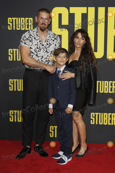 Steve Howey Photo - LOS ANGELES - JUL 10  Steve Howey son Sarah Shahi at the Stuber Premiere at the Regal LA Live on July 10 2019 in Los Angeles CA