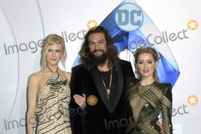 Nicole Kidman Photo - LOS ANGELES - DEC 12  Nicole Kidman Jason Momoa Amber Heard at the Aquaman Premiere at the TCL Chinese Theater IMAX on December 12 2018 in Los Angeles CA