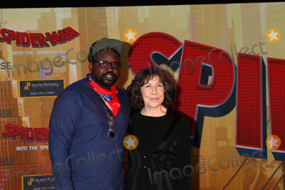 Lily Tomlin Photo - LOS ANGELES - DEC 1  Brian Tyree Henry Lily Tomlin at the Spider-Man  Into the Spider-Verse Premiere at the Village Theater on December 1 2018 in Westwood CA