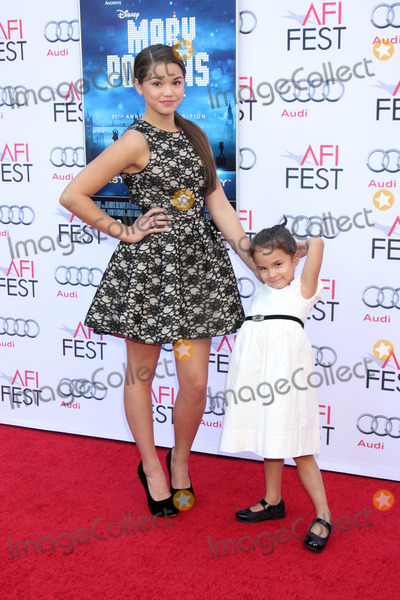 Paris Berelc Photo - LOS ANGELES - NOV 9  Paris Berelc Jojo Bereic at the AFI FEST Mary Poppins 50th Anniversary Commemoration Screening at TCL Chinese Theater on November 9 2013 in Los Angeles CA