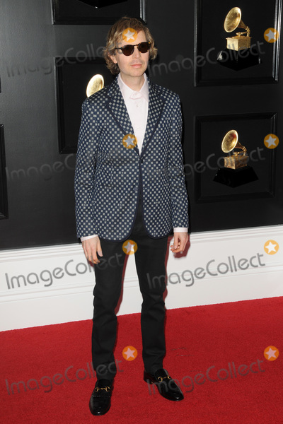 Beck Photo - LOS ANGELES - FEB 10  Beck at the 61st Grammy Awards at the Staples Center on February 10 2019 in Los Angeles CA