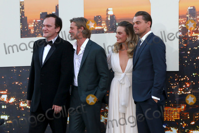 Margot Robbie Photo - LOS ANGELES - JUL 22  Quentin Tarantino Brad Pitt Margot Robbie Leonardo DiCaprio at the Once Upon a Time in Hollywood Premiere at the TCL Chinese Theater IMAX on July 22 2019 in Los Angeles CA