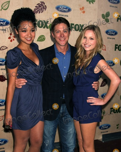Aisha Dee Photo - LOS ANGELES - SEP 12  Aisha Dee Kevin Rahm Kristi Lauren arriving at the 7th Annual Fox Fall Eco-Casino Party at The Bookbindery on September 12 2011 in Culver City CA
