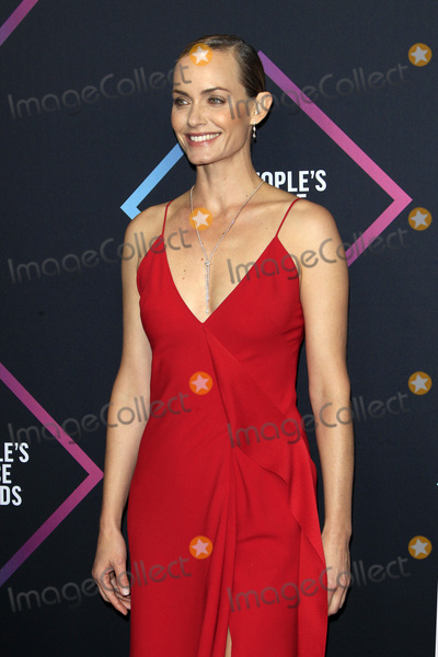 Amber Valletta Photo - LOS ANGELES - NOV 11  Amber Valletta at the Peoples Choice Awards 2018 at the Barker Hanger on November 11 2018 in Santa Monica CA