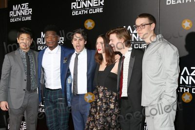 Thomas Brodie-Sangster Photo - LOS ANGELES - JAN 18  Ki Hong Lee Dexter Darden Dylan OBrien Kaya Scodelario Thomas Brodie-Sangster Will Poulter at the Maze Runner The Death Cure Fan Screening at AMC 15 on January 18 2018 in Century City CA