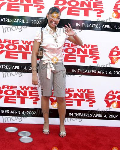 Aleisha Allen Photo - Aleisha AllenAre We Done Yet PremiereManns Village TheaterWestwood CAApril 1 2007