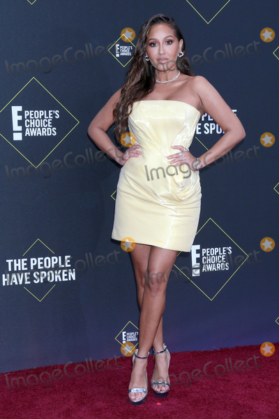 Adrienne Houghton Photo - LOS ANGELES - NOV 10  Adrienne Houghton at the 2019 Peoples Choice Awards at Barker Hanger on November 10 2019 in Santa Monica CA