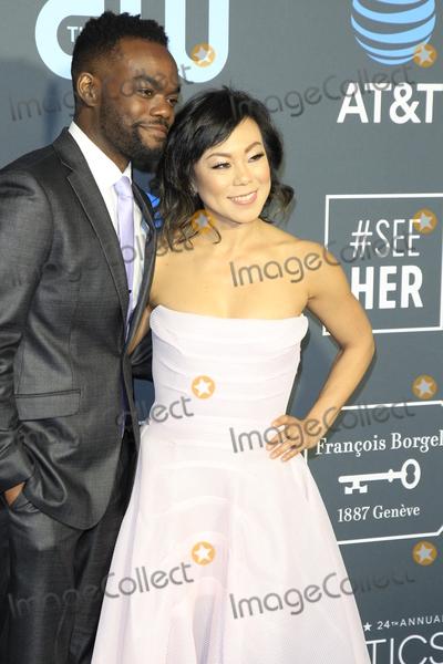 Ali Ahn Photo - LOS ANGELES - JAN 13  William Jackson Harper Ali Ahn at the Critics Choice Awards  at the Barker Hanger on January 13 2019 in Santa Monica CA