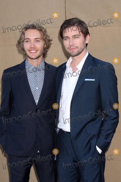 Torrance Coombs Photo - LOS ANGELES - JUL 29  Toby Regbo Torrance Coombs arrives at the 2013 CBS TCA Summer Party at the private location on July 29 2013 in Beverly Hills CA