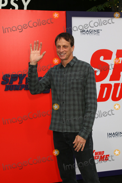 Tony Hawks Photo - LOS ANGELES - JUL 25  Tony Hawk at The Spy Who Dumped Me Premiere at the Village Theater on July 25 2018 in Westwood CA