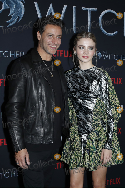 Adam Levy Photo - LOS ANGELES - DEC 3  Adam Levy Freya Allan at the The Witcher Premiere Screening at the Egyptian Theater on December 3 2019 in Los Angeles CA